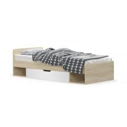 system TIPS łóżko 1s/90 dąb...