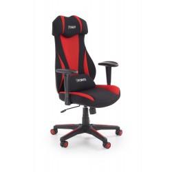 ABART fotel gabinetowy czarny / czerwony