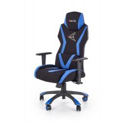 STIG fotel gabinetowy czarny / niebieski