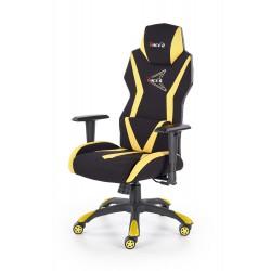 STIG fotel gabinetowy czarny / żółty