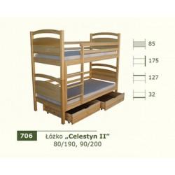 Łóżko Piętrowe Celestyn II