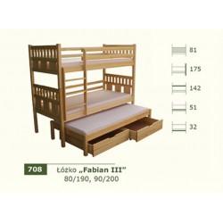 Łóżko Piętrowe Fabian III