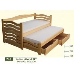 Łóżko Parterowe Cyryl II