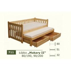 Łóżko Parterowe Makary II