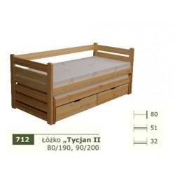 Łóżko Parterowe Tycjan II