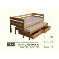 Łóżko Parterowe Modest II
