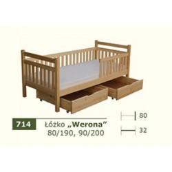 Łóżko Parterowe Werona