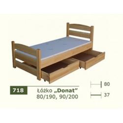 Łóżko Parterowe Donat