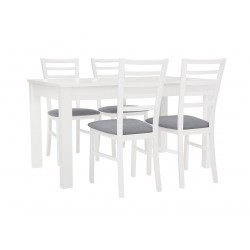 Zestaw stół z krzesłami Bryk 2
