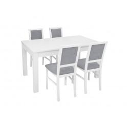 Zestaw stół z krzesłami Robi