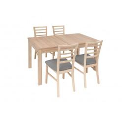 Zestaw stół z krzesłami Bryk